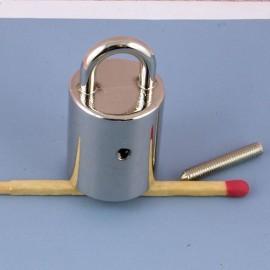 Embout métal attache cordelière fournitures maroquinerie.