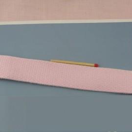 Sangle épaisse coton, anse sacs, 25 mmde large par 10 cm