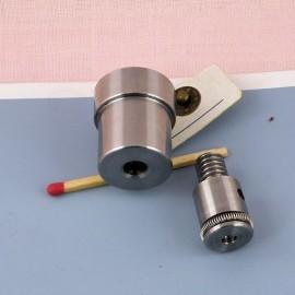 Matrice pour sertir les rivets 6 mm.