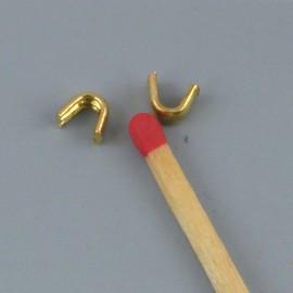 2 Arrêtoirs haut Fermeture glissière éclair sac matériel maroquinerie,