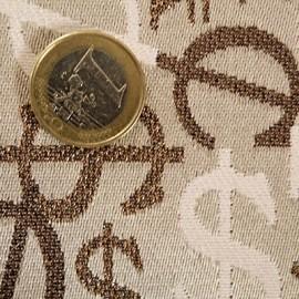 Tissu paille tressée épais pour sac vendu au dm²