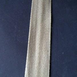 Sangle chevron coton, galon épais bordure anse sacs, 3 cm large par 10 cm