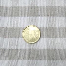 Tissu carreaux épais pour sac vendue au dm²