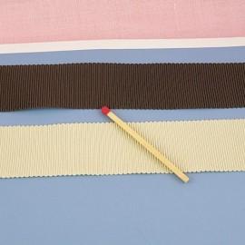 Galon gros-grain décoration, sangle anse sacs fourniture maroquinerie 25 mm
