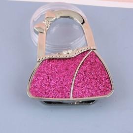 Porte sac main métal fourniture maroquinerie,