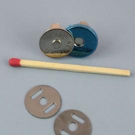 Pression aimantée 15 mm fournitures maroquinerie
