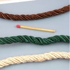 Twisted Piping cord 6,5 mm, 24 mms.