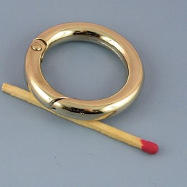 Metal flat ring open closed 37 mms diameter