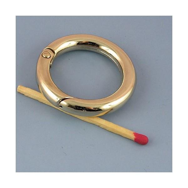 Metal flat ring open closed 37 mms diameter