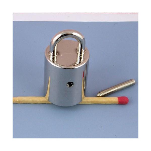 Cord tip metal ring hook for bag 32 mms,
