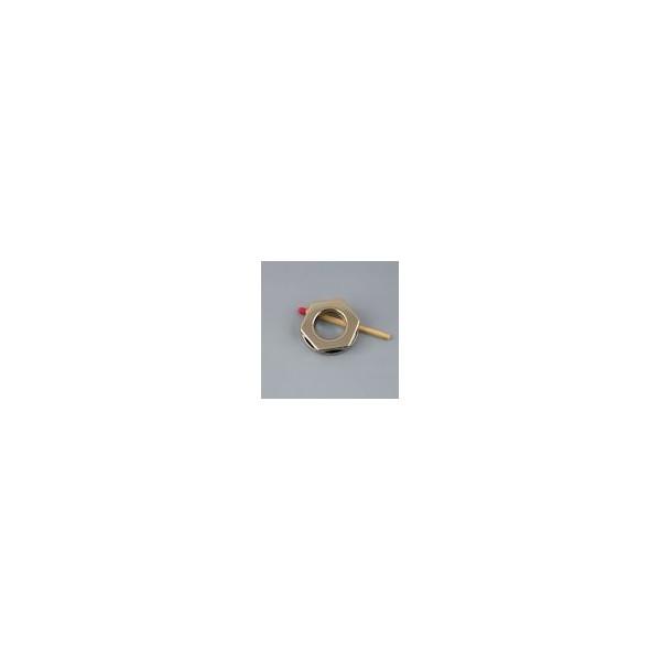 Oeillet octogonal métal à pattes