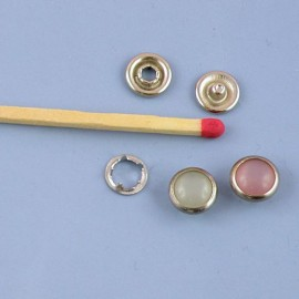Colored mini snaps fastener miniature 8mm