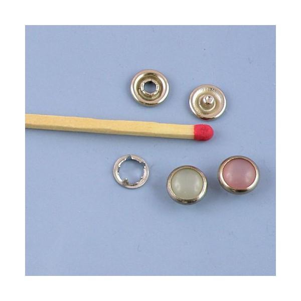 Colored mini snaps fastener miniature 8mm