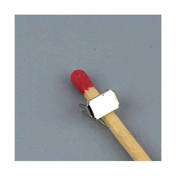 Arrêtoir Fermeture glissière éclair sac matériel maroquinerie,