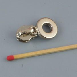 Metal bag zipper head n°7 Quality for bag making