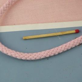 Cordon tressé coton 5 mm au mètre