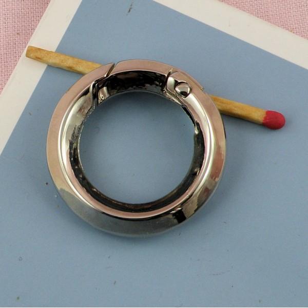 Metal flat ring open closed 33 mms diameter