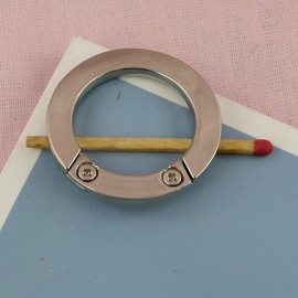 Metal flat ring open closed 34 mms diameter