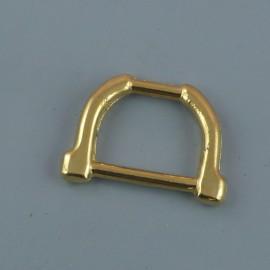 Demi anneau étrier D, 14 mm
