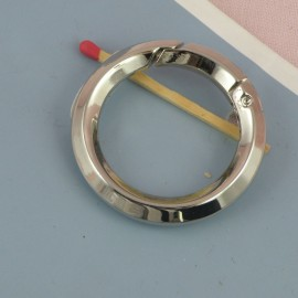 Metal ring open closed 42 mms diameter