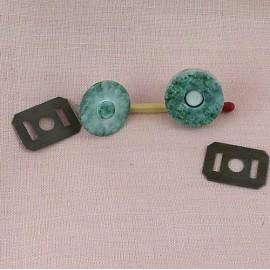 Printed magnetic closure 2 cms