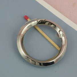 Metal ring open closed 33 mms diameter