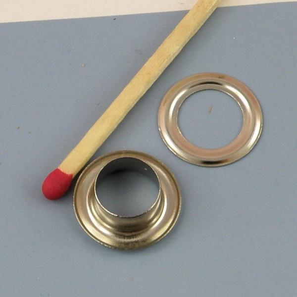 Metal grommet Washer eyelet 22 mm.