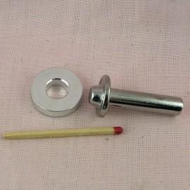 Metal grommet  Washer for bag, eyelet decoration home 19 mm.
