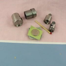 Metal tool for  snaps fastener 15 mm.