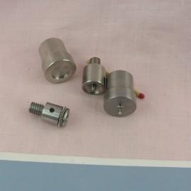 Metal tool for  snaps fastener 12 mm.