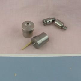 Metal tool for  snaps fastener 10 mm.