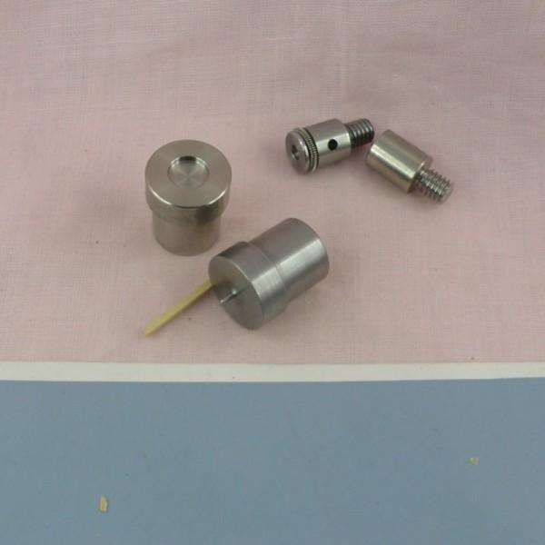 Matrice pour sertir les pressions 10 mm.