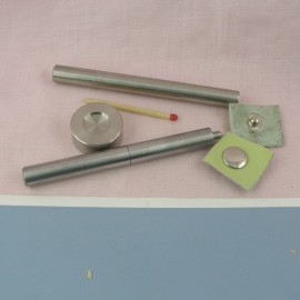 Metal grommet  Washer for bag, eyelet decoration home 19 mm.