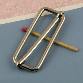 Rectangular Metal buckle 4 cms,