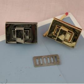 Fermoir anneau fournitures maroquinerie 35 mm