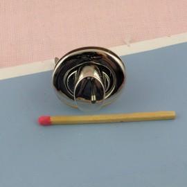 Fermoir anneau ovale fournitures maroquinerie 25 mm