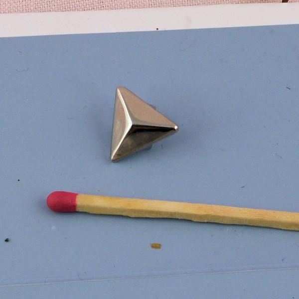 Coin métal renfort angle 2 cm. accessoire maroquinerie