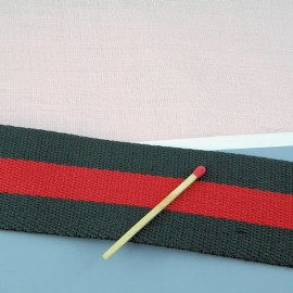Cotton Belting stripped Gucci 2,2 cms
