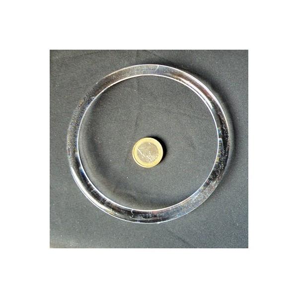 Anneau plastique anse ronde , 12 cm