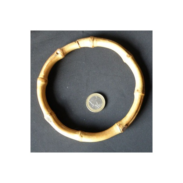 Anneau bambou anse ronde , 13 cm