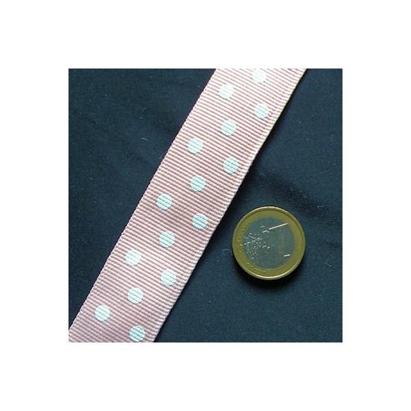Sangle à pois, galon épais, coton, anse sacs, 2,5 cm, 25 mm.
