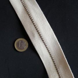 Sangle galon surpiqûre épaisse 4 cm par 10 cm.