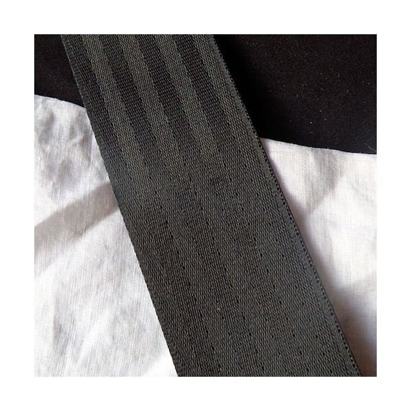 Galon gros-grain décoration, sangle satinée anse sacs, 4 cm large par 10 cm: