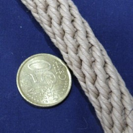 Grosse Corde marin double torsade anse sac 14 mm.