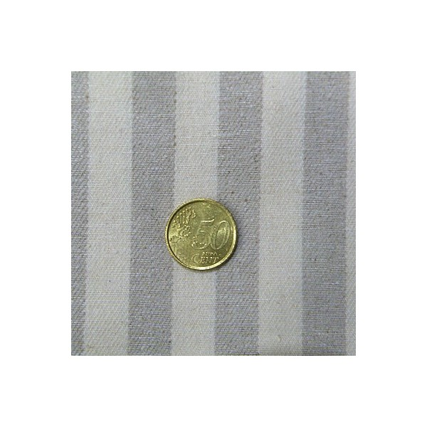 Thick purse stripped fabric  sell by 10 centimeters.