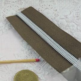 Fermeture glissière nylon 7 mm sac maroquinerie, au mètre