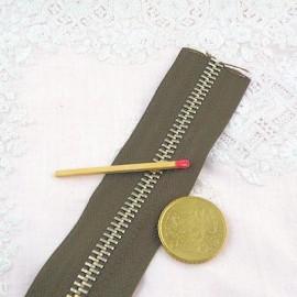 Fermeture glissière métal 6 mm sac maroquinerie, au mètre