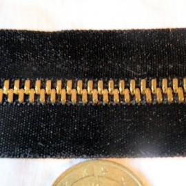 Fermeture glissière métal 6 mm sac maroquinerie