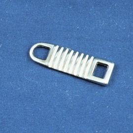Tirette luxe pour Fermeture glissière éclair dorée sac fourniture maroquinerie,