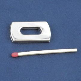 Partie style Fermoir  Hermes fournitures maroquinerie, 2 côtés, 3,2 cm.